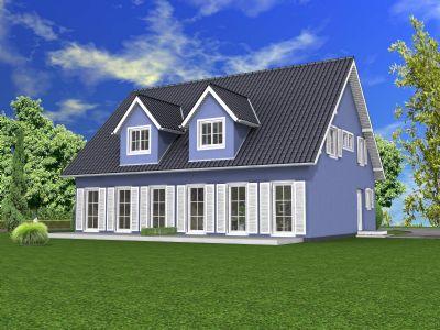 massiv haus inkl grundst ck zwei doppelhaush lften landhausstil in ottweiler steinbach. Black Bedroom Furniture Sets. Home Design Ideas
