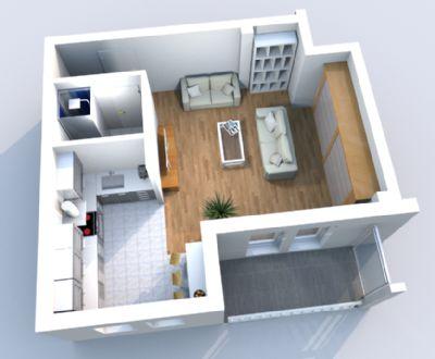 sch ne helle 1 zimmer wohnung mit offener k che wohnung erfurt 2cxvt4f. Black Bedroom Furniture Sets. Home Design Ideas