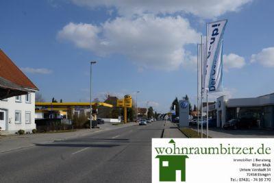 Herbertinger Straße Richtung Kur und Badeort Bad S