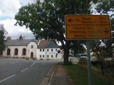 Langenbernsdorf gepflegter Ort in Top-Lage