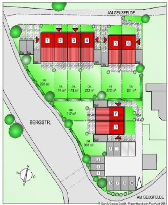 Lageplan Garagenhof
