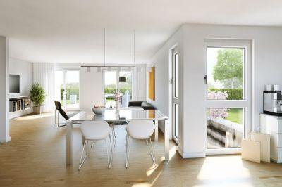 PICK ONE Wohnzimmer mit offener Küche