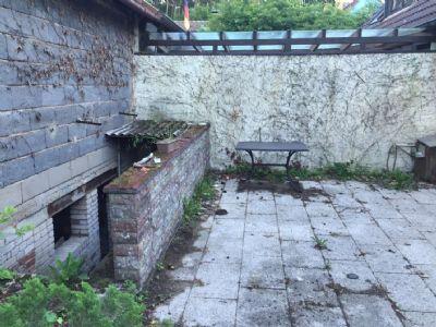 Terrasse und Keller Anbau