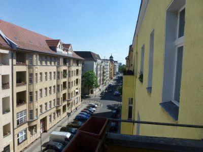 Blick Richtung Lietzensee am Ende der Straße