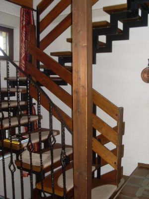 Dekorativer Treppenaufgang