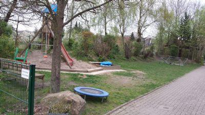Kleiner Spielplatz für die Anwohner