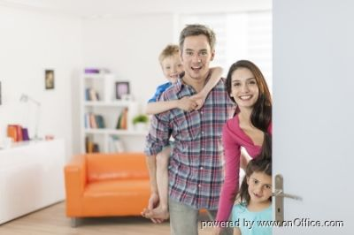 Familienglück im Eigenheim