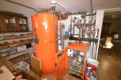 Gas-Heizung mit Speicher