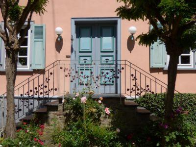 Eingang Pfarrhaus