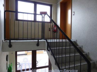 Treppe zur Büroetage