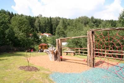 Spielplatz im Ferienpark