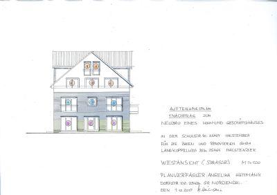 randgebiet von hamburg obergeschoss wohnung mit balkon im ortskern von halstenbek mit. Black Bedroom Furniture Sets. Home Design Ideas
