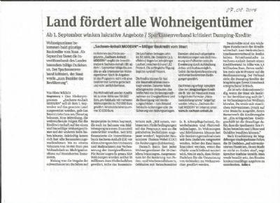 Bild 4 Magdeburger Volksstimme 27.08.2014 Wohnbau.