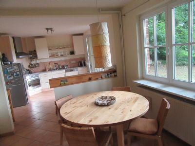 Essplatz - Blick in die Küche