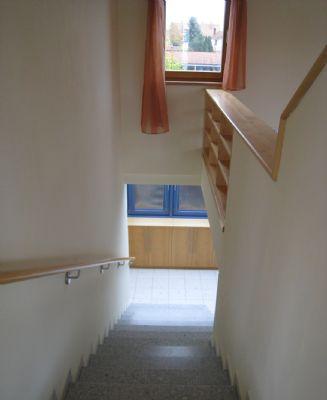Treppe zur Wohnung 2