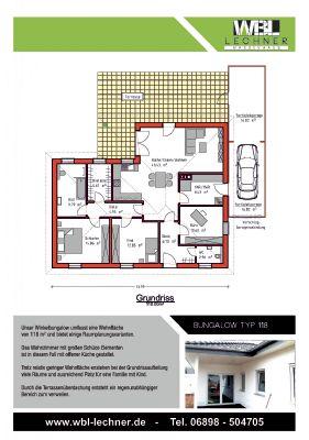 Bungalow 118 m²