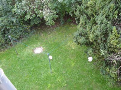 ....und Blick in den Hausgarten