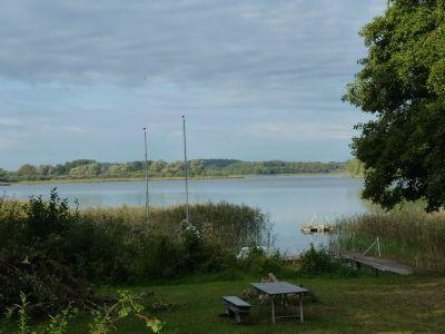 Ein Blick über den See
