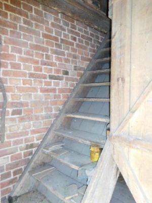 Andere Tür-Aufgang zur Tenne