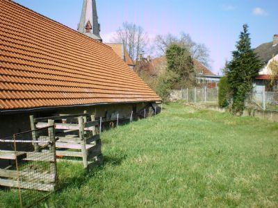 Wiesen- bzw. Gartengrundstück hinter der Scheune