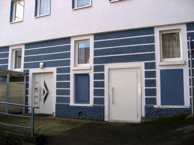Bocksburgweg 1 Hauszugang Westseite