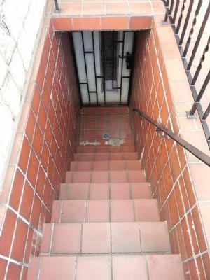 Treppe vom Keller zum Garten