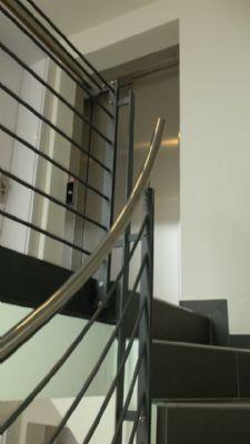 hochwertiges Edelstahl-Gelände/Treppenflur