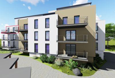barrierefreie 3 zi wohnung mit aufzug und balkon etagenwohnung ansbach 2cama42. Black Bedroom Furniture Sets. Home Design Ideas