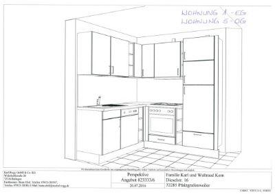 7001 - Küche sw