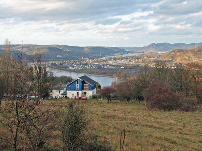 Rheinblick vom Grundstück