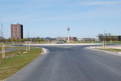 Zentraler Kreisverkehr