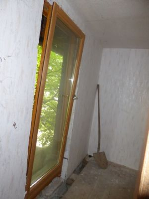 Tür in Diele für Balkon