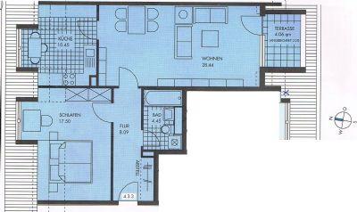 gro z gige zweiraumwohnung mit balkon in gepflegter wohnanlage wohnung leipzig 2amv44z. Black Bedroom Furniture Sets. Home Design Ideas