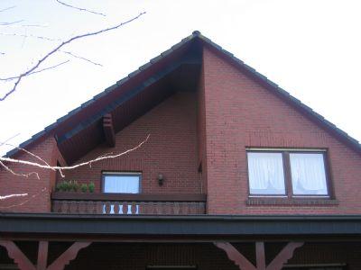 bunnen sch ne dg wohnung im 2 familienhaus mit balkon und. Black Bedroom Furniture Sets. Home Design Ideas