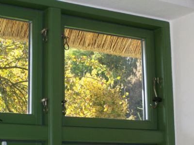 Rohrdachhaus Dänisch Fenster