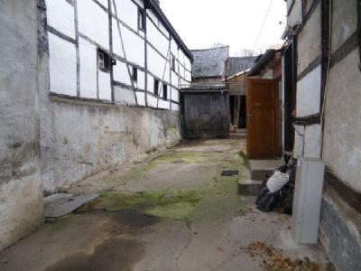 geschlossener Innenhof