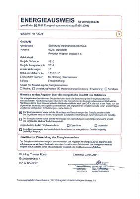 Energieausweis FrWa1-0102-1