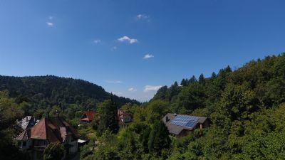 Blick von der Dachterrasse nach Westen