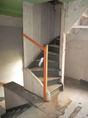 Treppenhaus / Treppe zum Boden