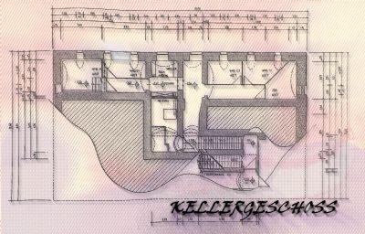 Planung zur Bauanzeige 97: 1.UG