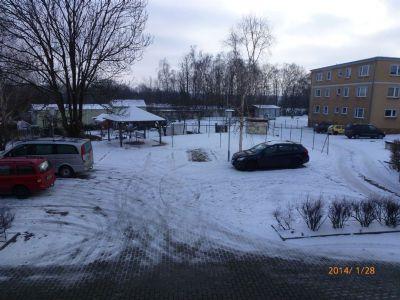 Sitzeccke u. Parkplatz