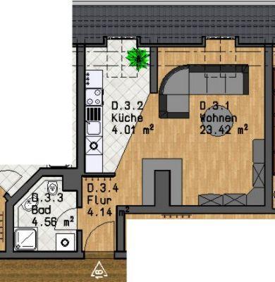 1 zimmer wohnung mieten leipzig gohlis mitte 1 zimmer. Black Bedroom Furniture Sets. Home Design Ideas