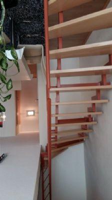 Treppenaufgang zur Wohnebene 2