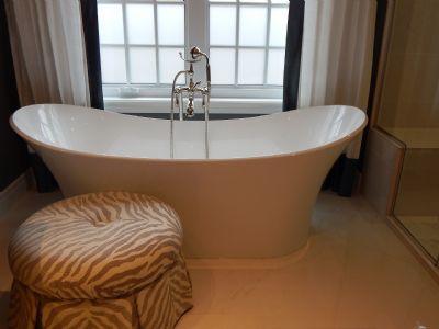 stilvolle Badewanne auf Wunsch