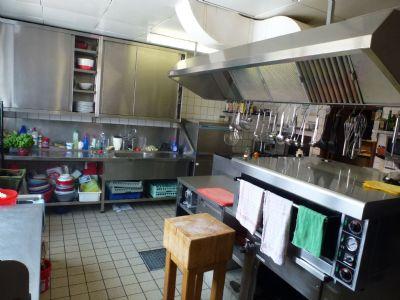 die Küche mit Licht