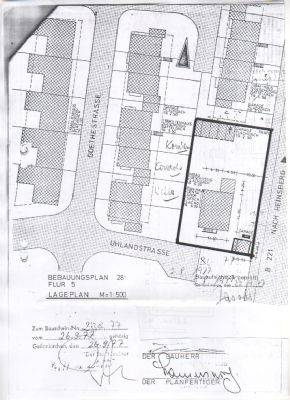 Bild 1 Lageplan