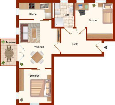 Wohnung Variante 1