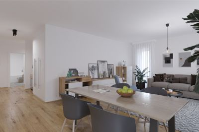 4-Zimmer-Eigentumswohnung mit 2 Bädern und Balkon