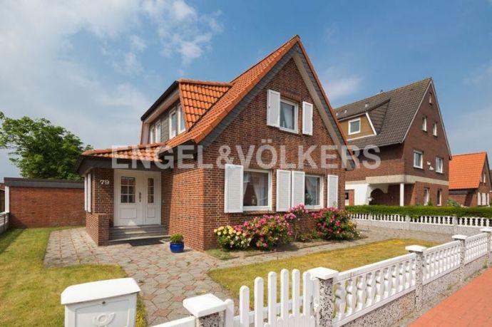 Norderney Freistehendes Haus mit großem Grundstück