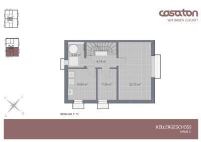 Grundriss Keller Haus 1